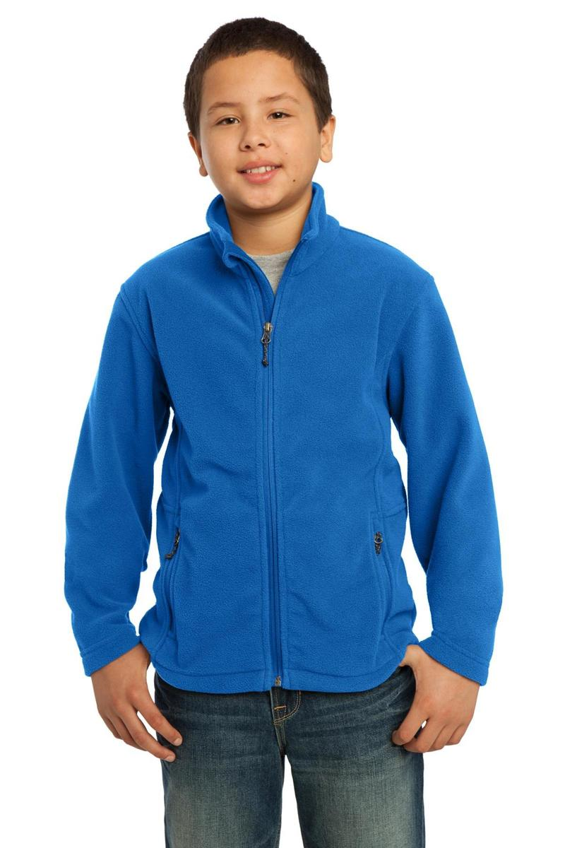 Port Authority Embroidered Youth Value Fleece Jacket