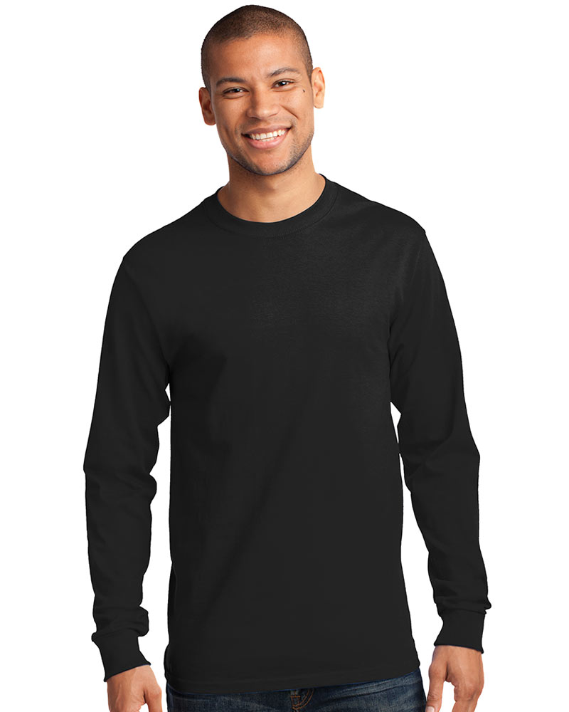 Gildan Printed Men's Classic Ultra Cotton Long Sleeve Tee