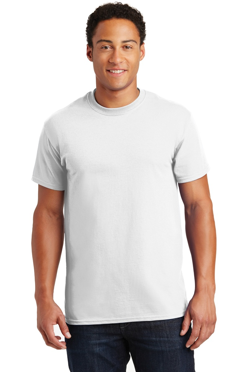 Gildan Printed Men's Ultra Cotton Tee - Single Color Logo