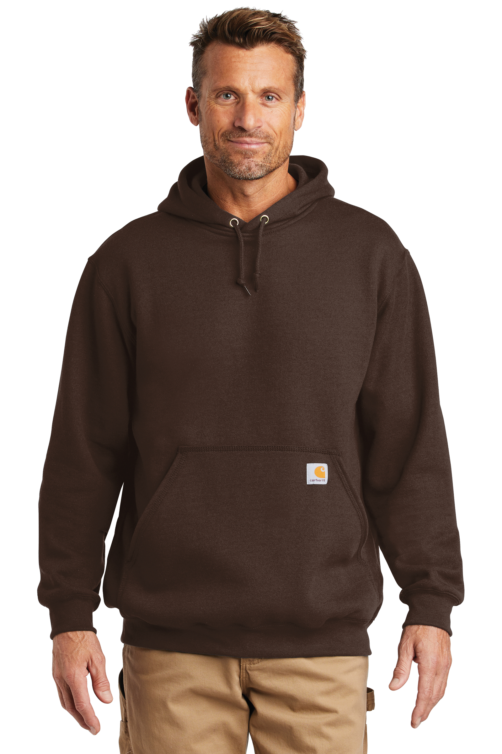 Carhartt Embroidered Men's Midweight Hooded Sweatshirt