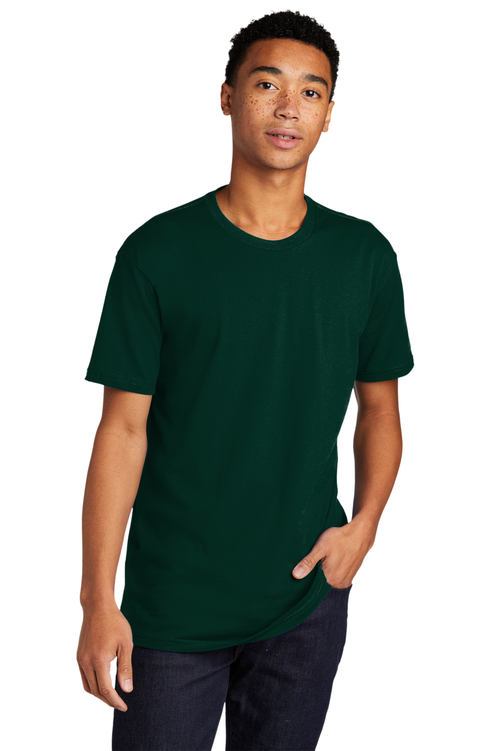 Next Level Embroidered Men's Cotton Tee