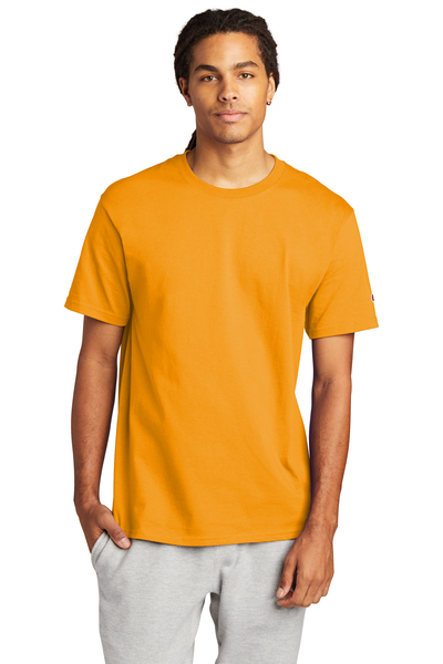 Champion Embroidered Men's Heritage 6-oz. Jersey Tee