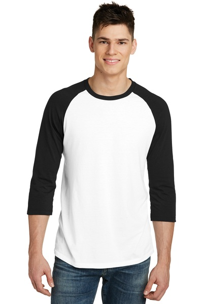 District Embroidered Very Important Tee  3/4-Sleeve Raglan