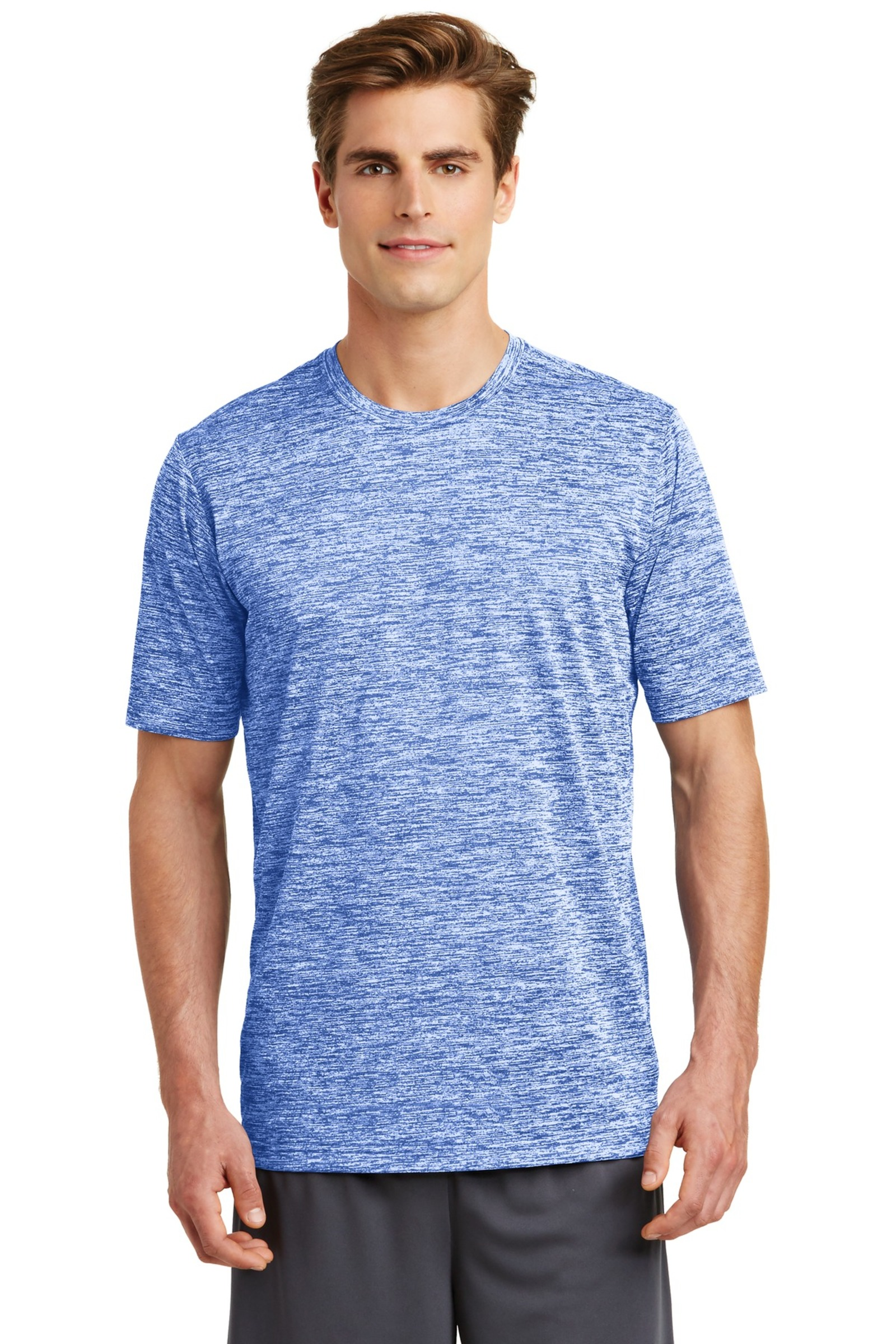 Sport-Tek Embroidered Men's PosiCharge Electric Heather Tee