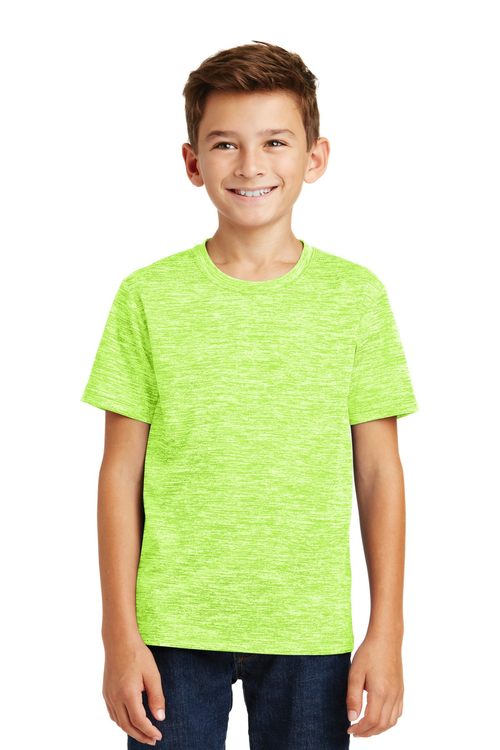 Sport-Tek Printed Youth PosiCharge Electric Heather Tee