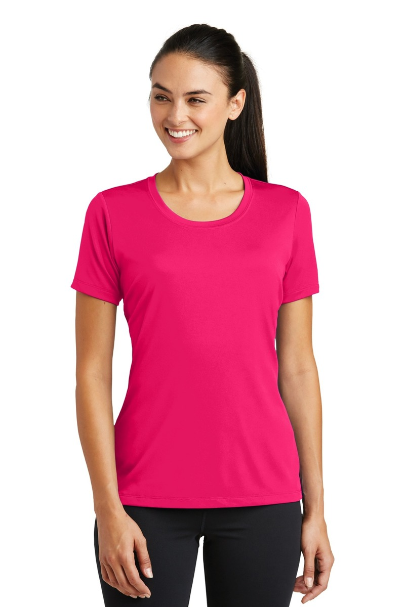 Sport-Tek Embroidered Women's PosiCharge Tough Tee