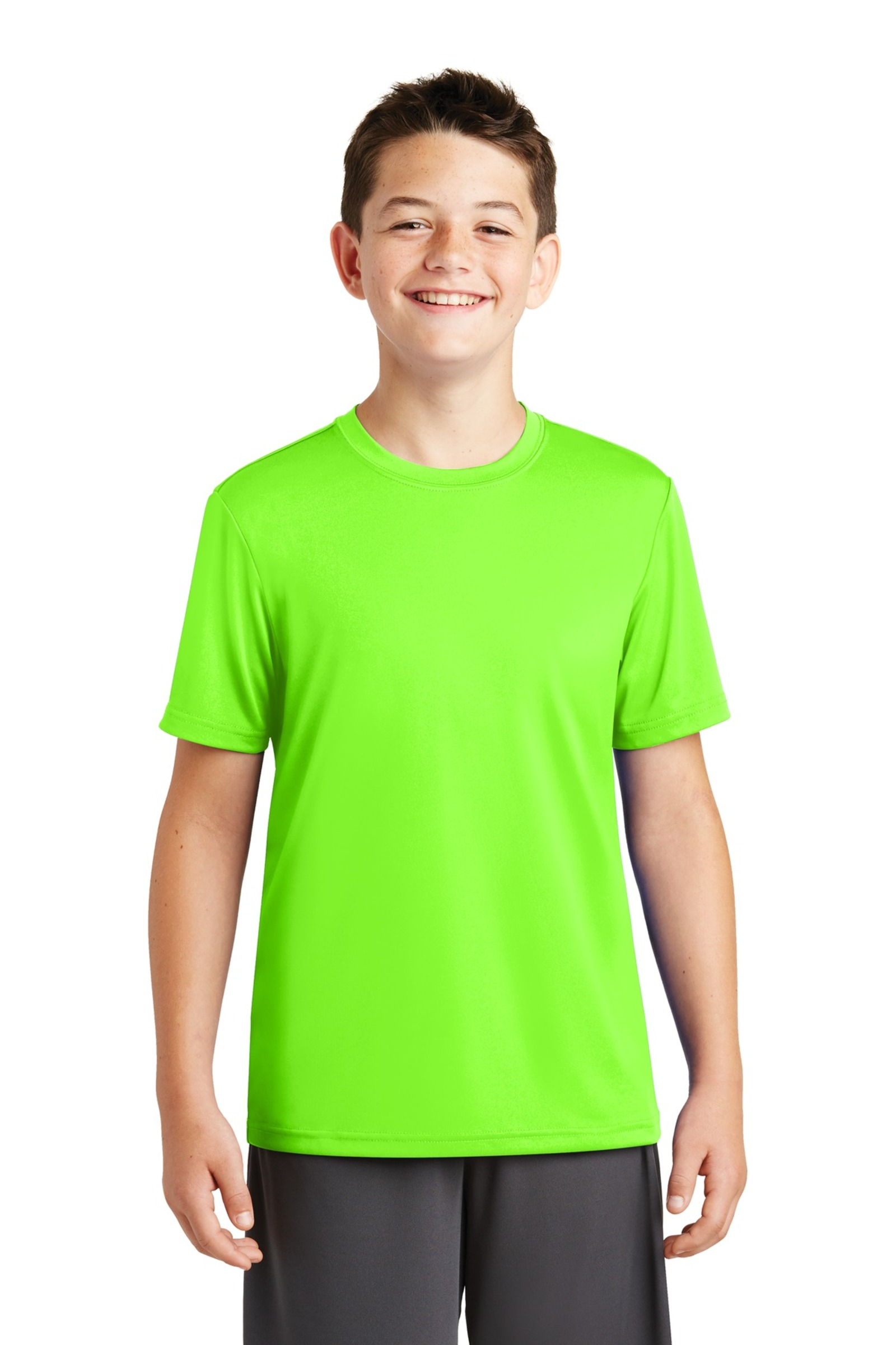 Sport-Tek Embroidered Youth PosiCharge Tough Tee