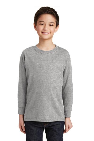 Gildan Printed Youth 100%  Heavy Cotton Long Sleeve T-Shirt