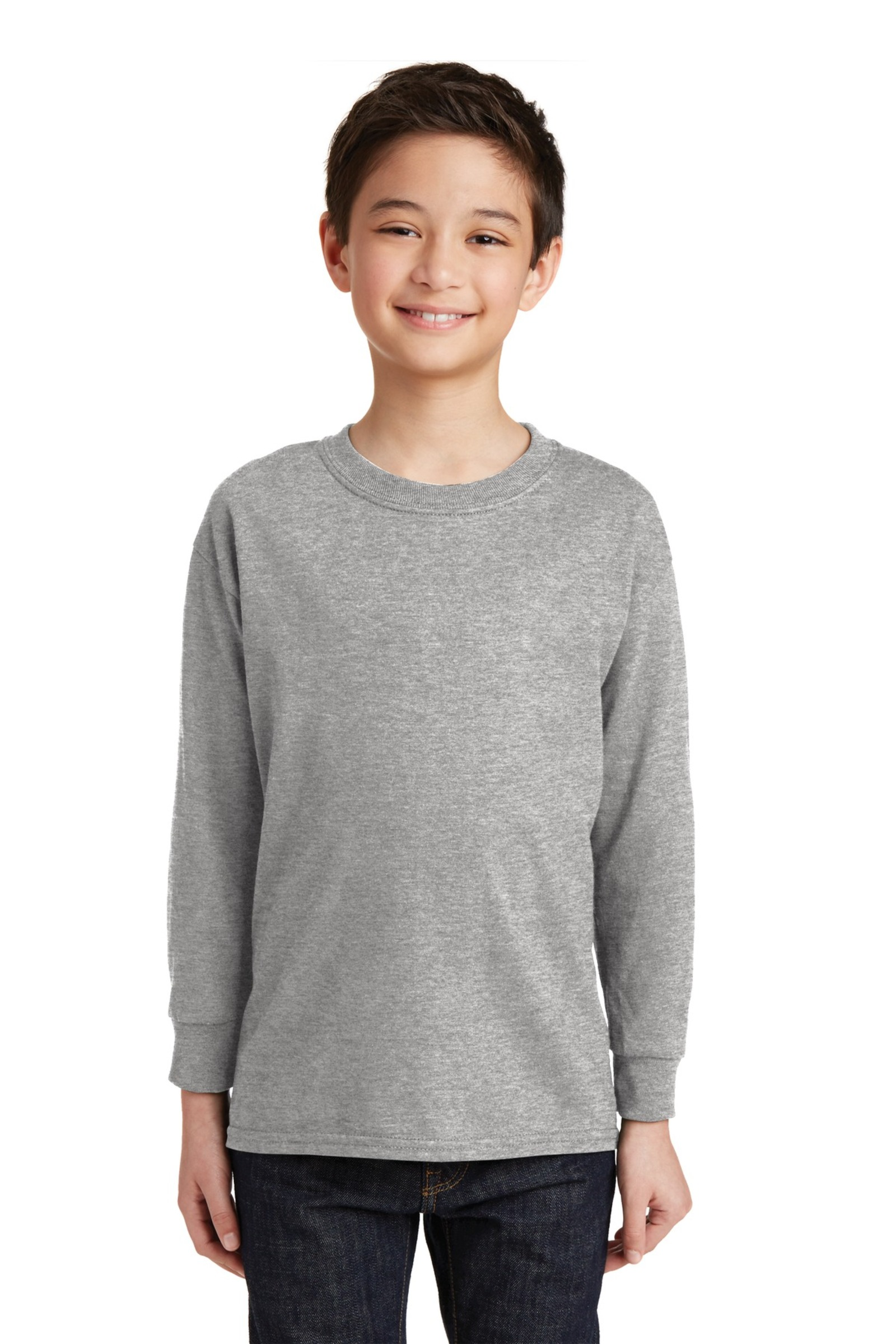 Gildan Printed Youth 100%  Heavy Cotton Long Sleeve T-Shirt