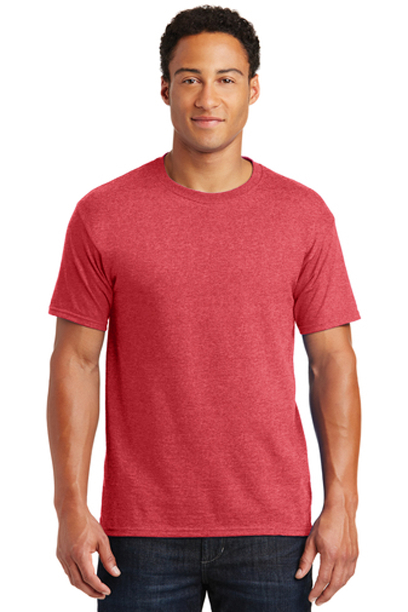 District Printed Men's Perfect TriBlend Tee - Single Color Logo