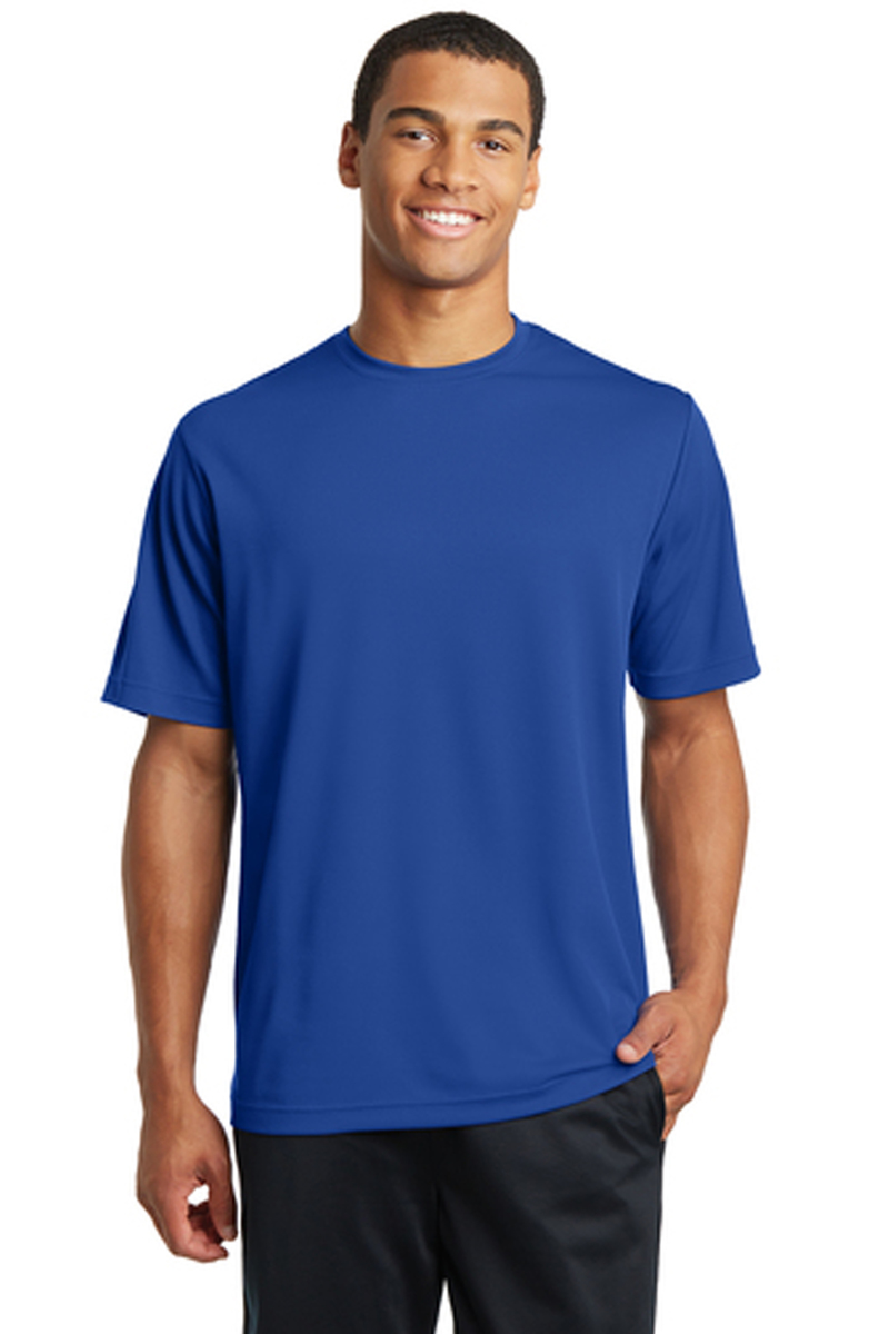 Sport-Tek Printed Men's Competitor Tee - Single Color Logo