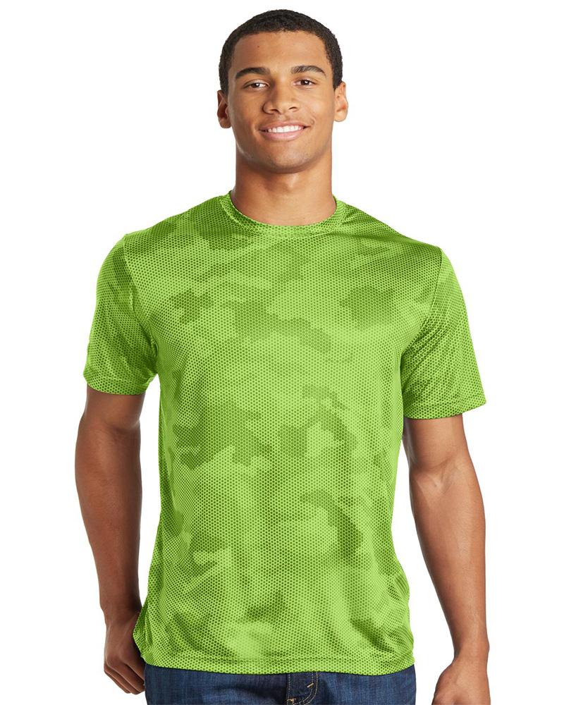 Sport-Tek Embroidered Men's CamoHex Tee