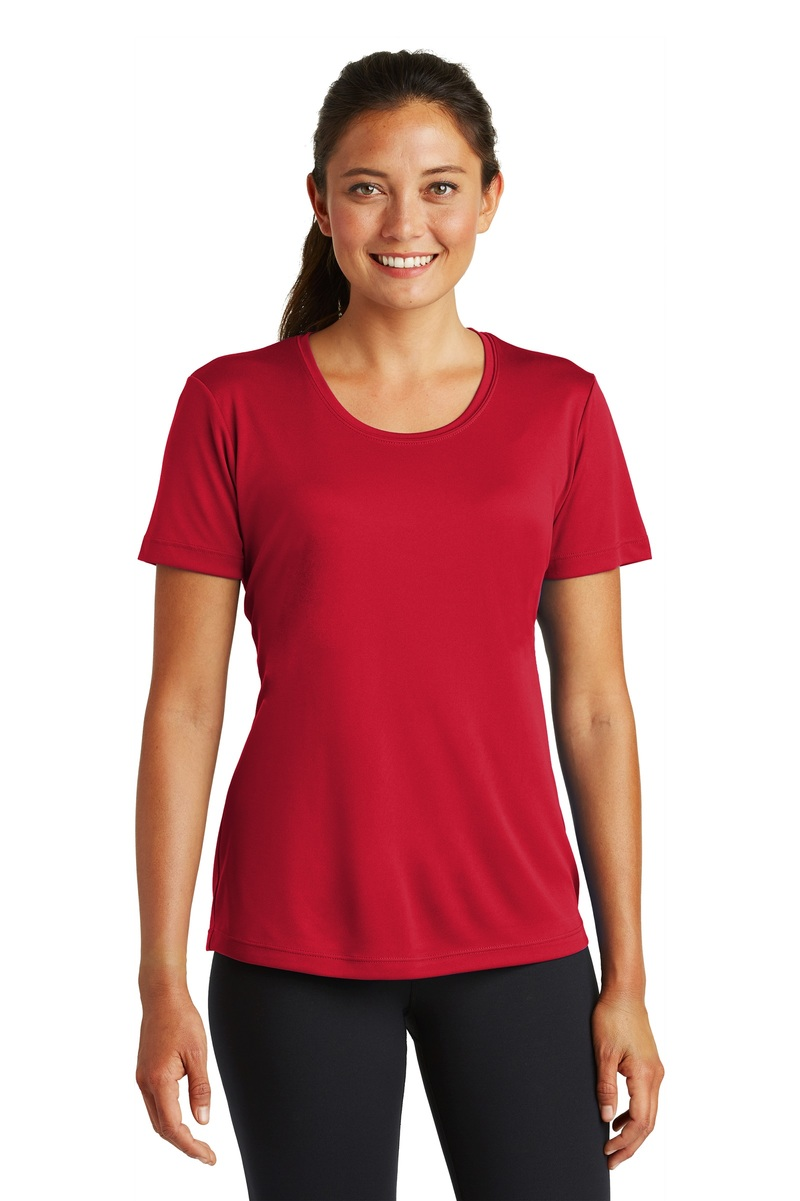 Sport-Tek Printed Women's Competitor Tee - Single Color Logo