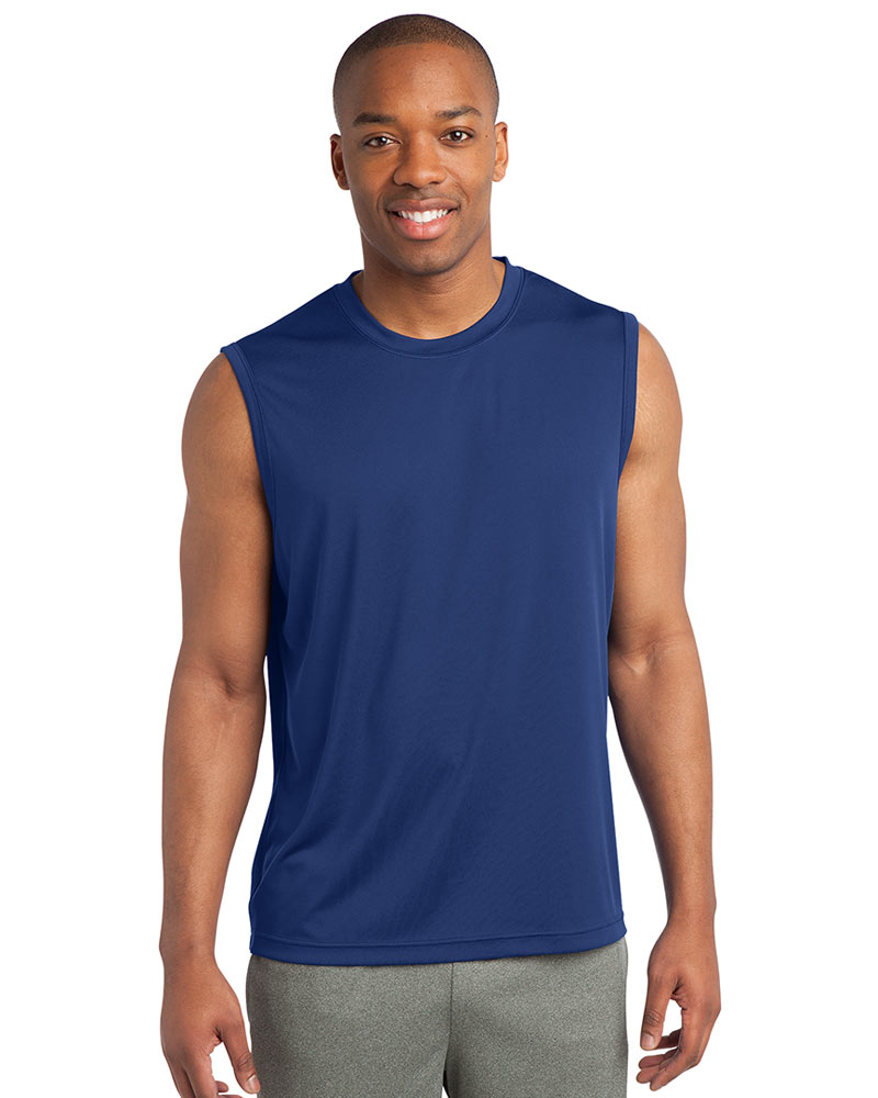 Sport-Tek Printed Men's Sleeveless PosiCharge Competitor Tee