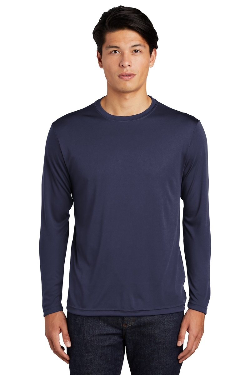 Sport-Tek Embroidered Men's Long Sleeve Competitor Tee