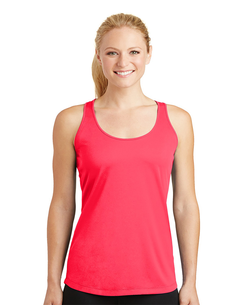 Sport-Tek Embroidered Women's PosiCharge Competitor Racerback Tank
