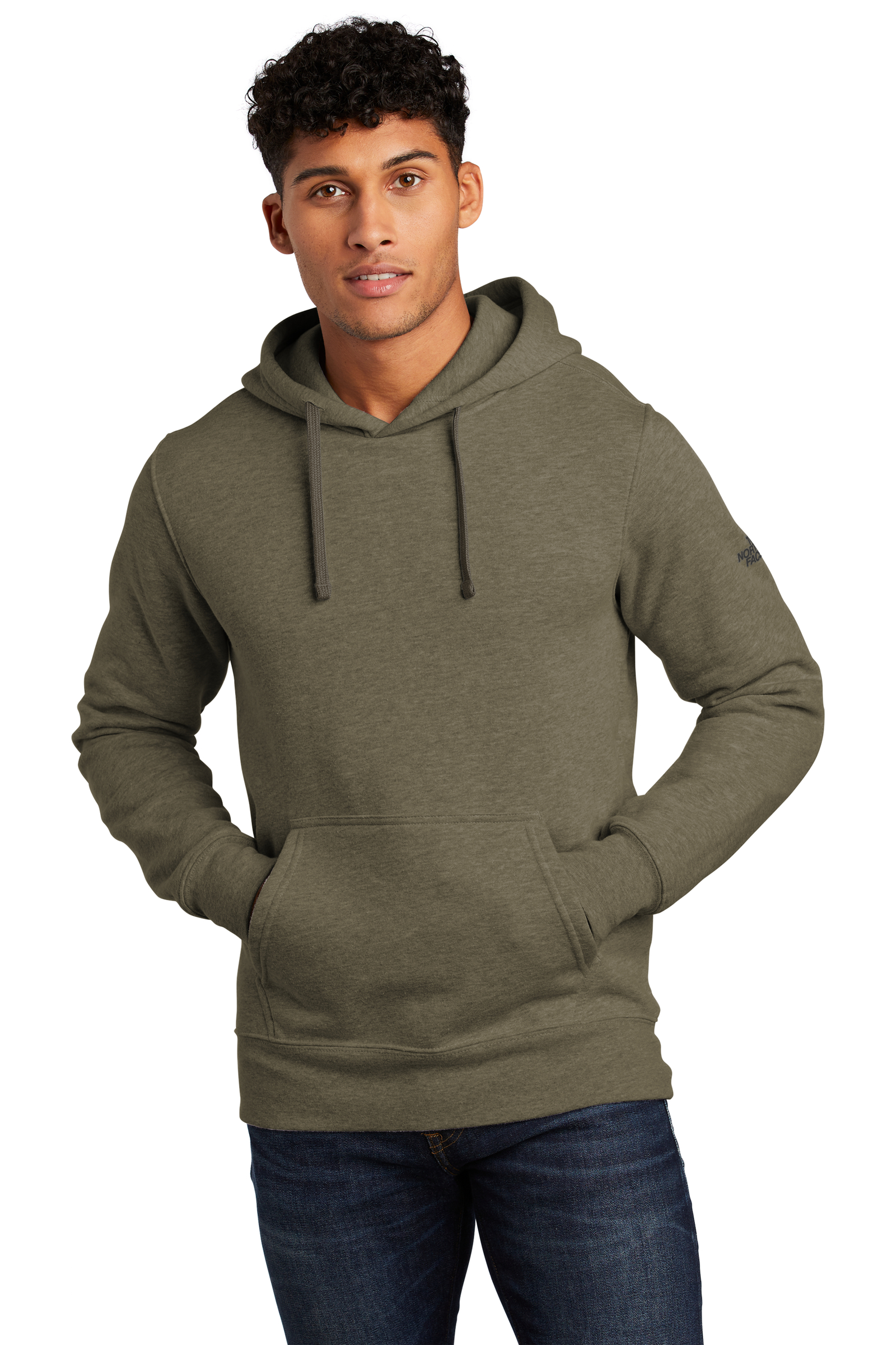 The North Face Embroidered Men's Pullover Hoodie