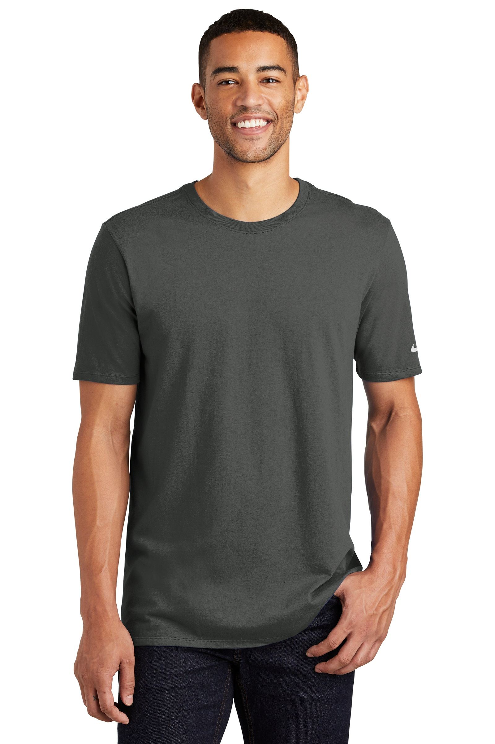 Nike Embroidered Men's Core Cotton Tee