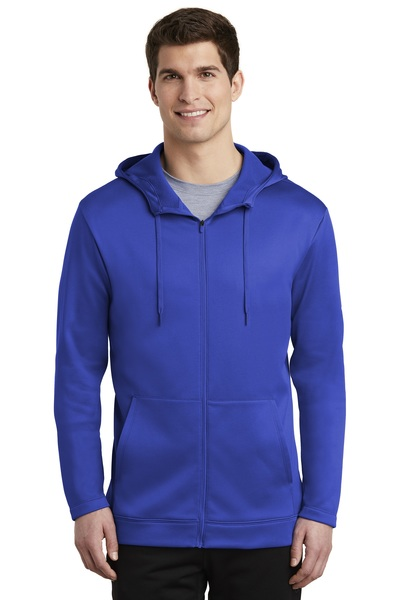 Nike Embroidered Men's Therma-FIT Full-Zip Fleece Hoodie