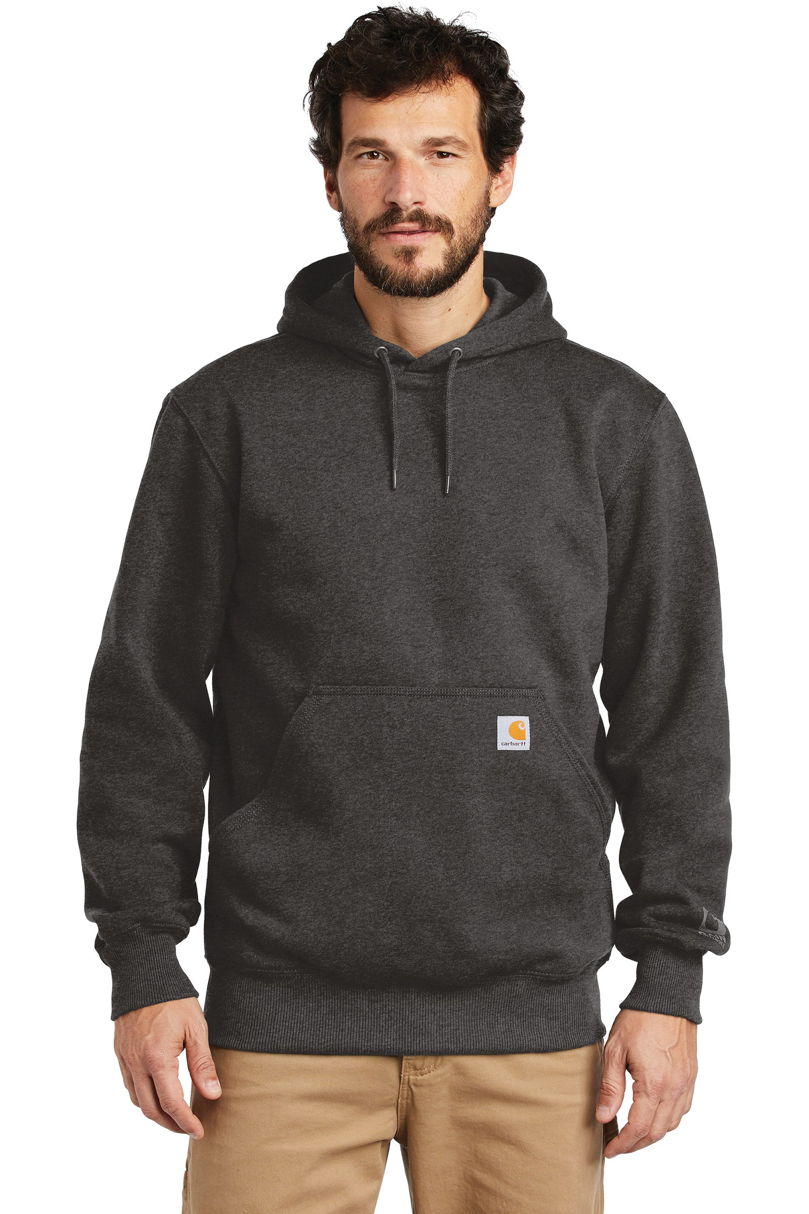 Carhartt Embroidered Rain Defender Paxton Heavyweight Hooded Sweatshirt