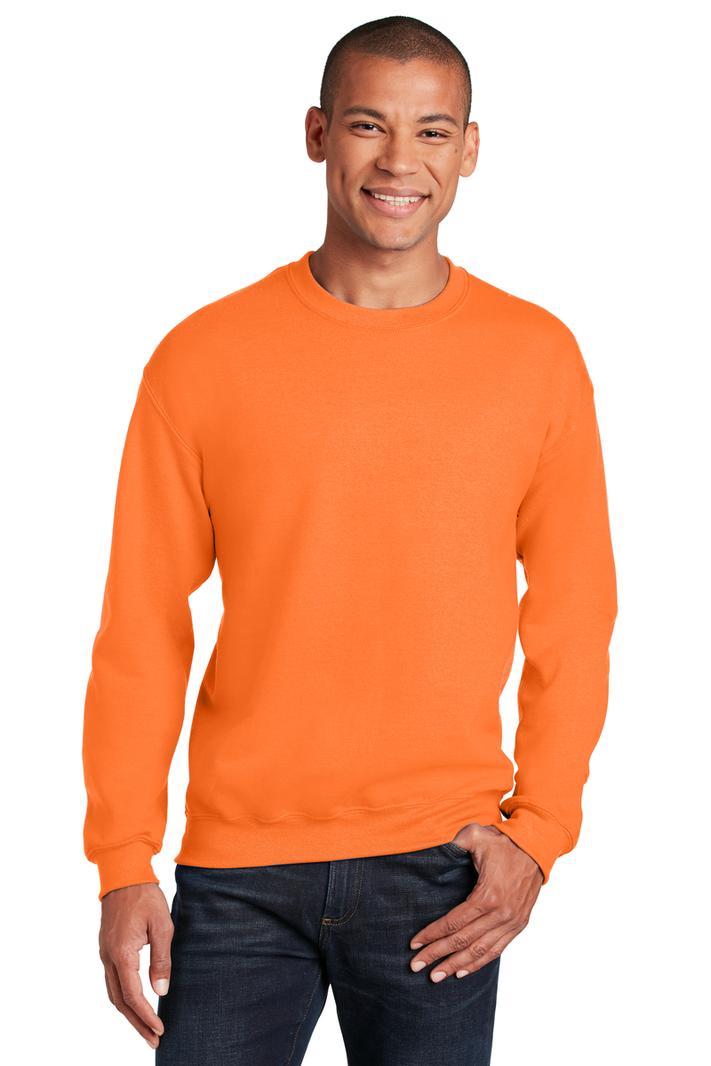 Gildan Printed Men's Heavy Blend Crewneck Safety Sweatshirt