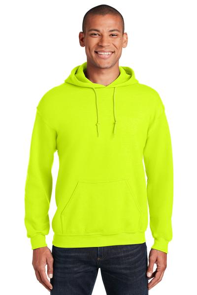 Gildan Embroidered Men's Heavy Blend Pullover Hooded Safety Sweatshirt