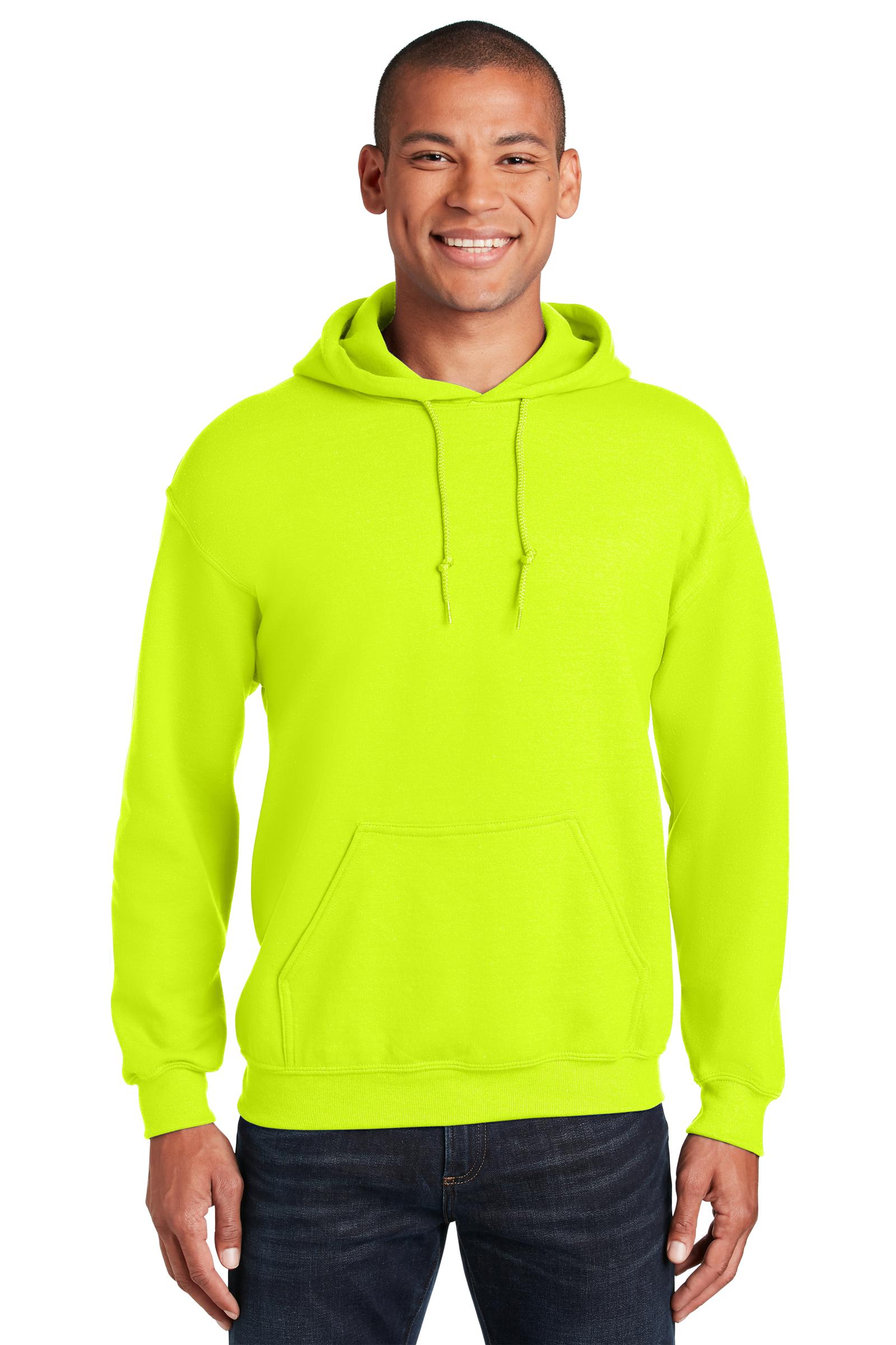 Gildan Printed Men's Heavy Blend Pullover Hooded Safety Sweatshirt