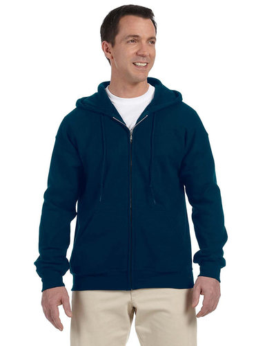 Gildan Embroidered Men's Full Zip Hooded Sweatshirt