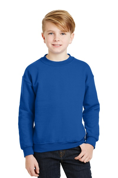 Gildan Embroidered Youth Crewneck Sweatshirt