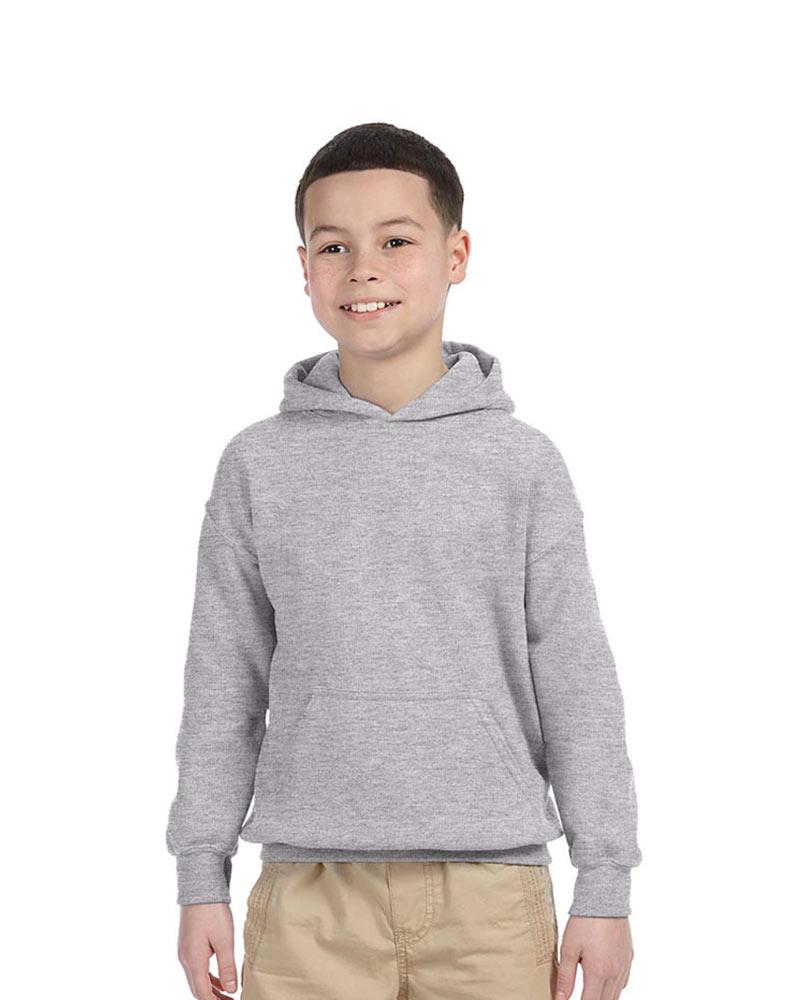 Gildan Embroidered Youth Hooded Sweatshirt