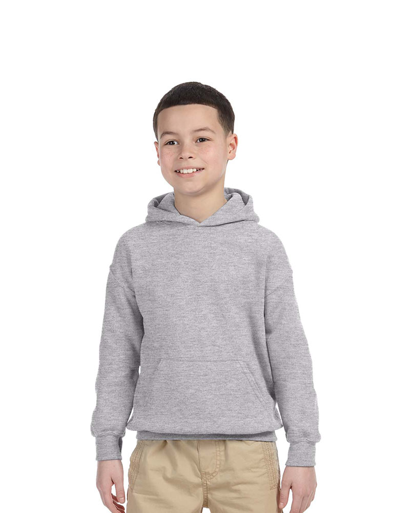 Gildan Printed Youth Hooded Sweatshirt