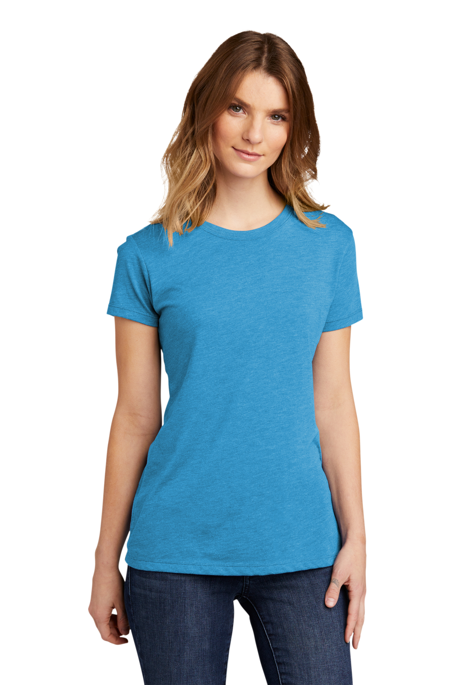 Next Level Embroidered Women's Tri-Blend Crew