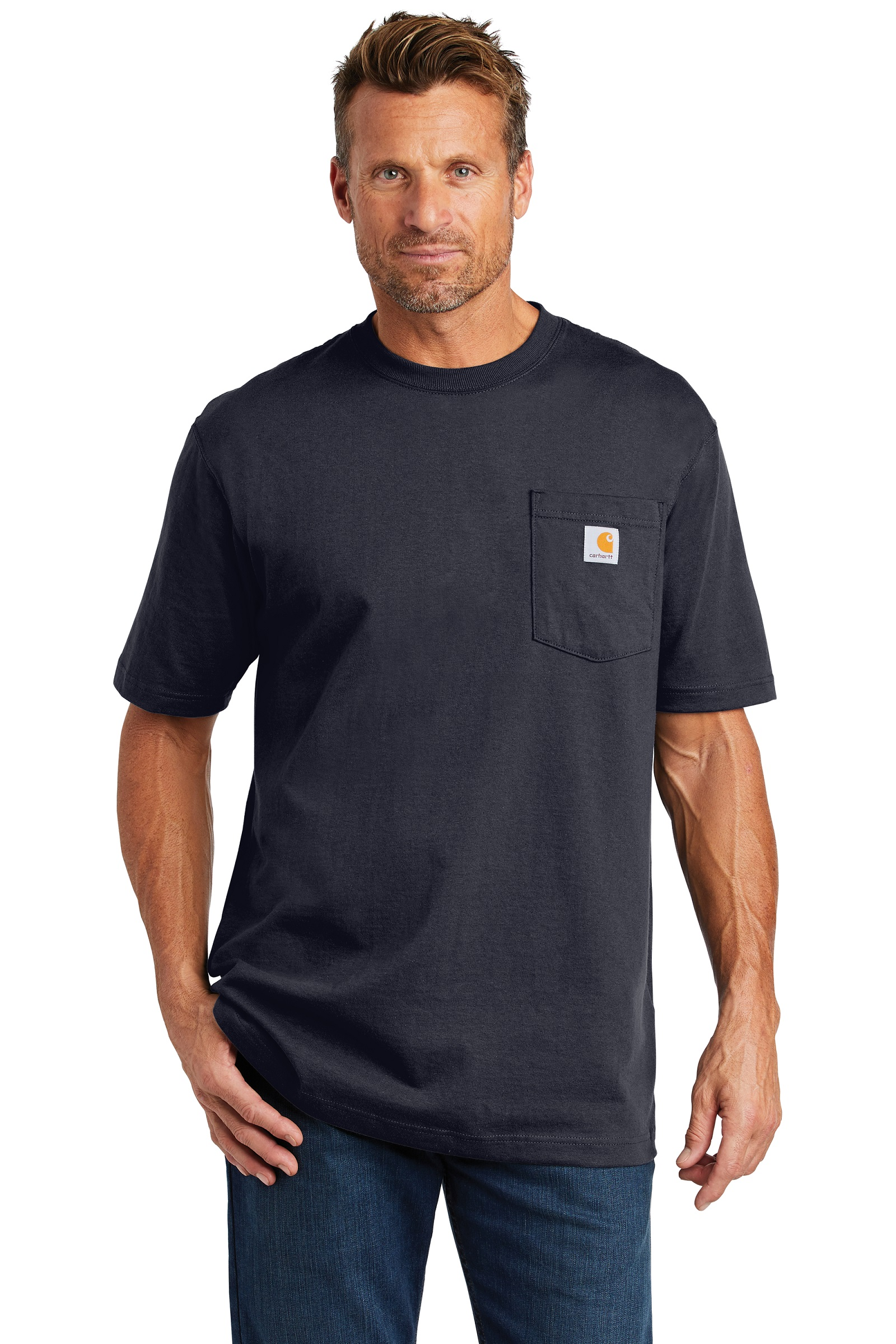 Carhartt Embroidered Men's Workwear Pocket T-Shirt