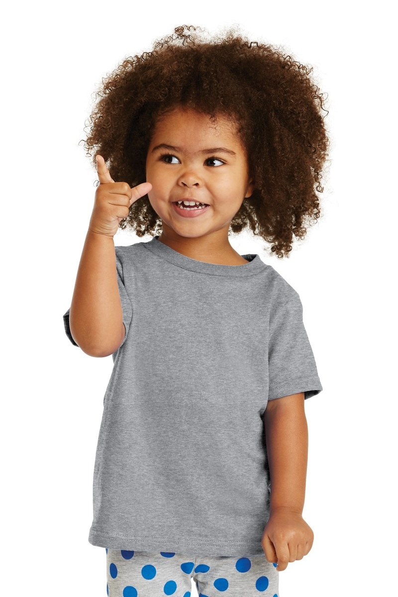 Port & Company Printed Toddler Cotton Tee