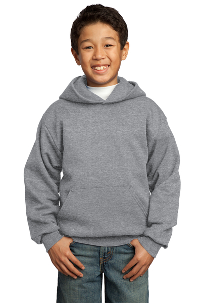 Port & Company Printed Youth Core Fleece Pullover Hooded Sweatshirt