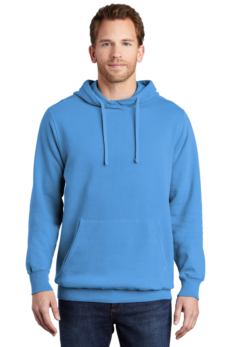 Port & Company Beach Wash Garment-Dyed Pullover Hooded Sweatshirt