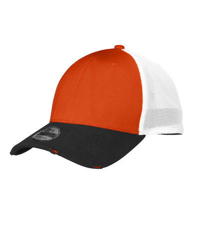 New Era  Embroidered Vintage Mesh Hat