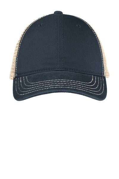 District  Embroidered Super Soft Mesh Back Hat