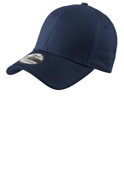 New Era  Embroidered Structured Fitted Cotton Cap