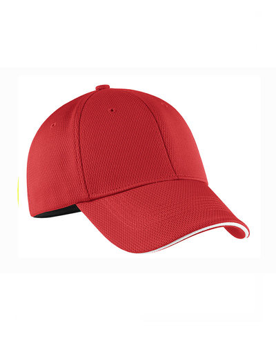 Nike Golf  Embroidered DriFIT Mesh Swoosh Flex Sandwich Hat