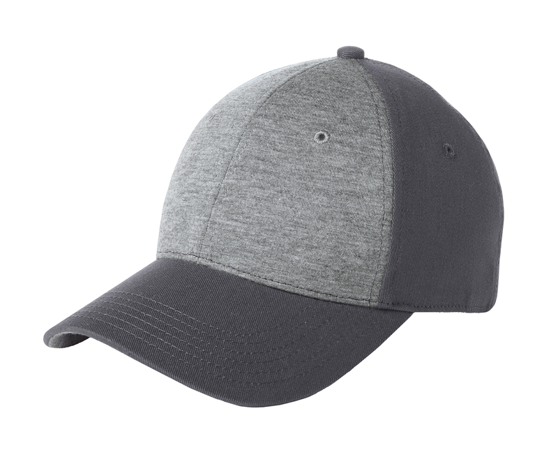 Sport-Tek Embroidered Jersey Front Hat