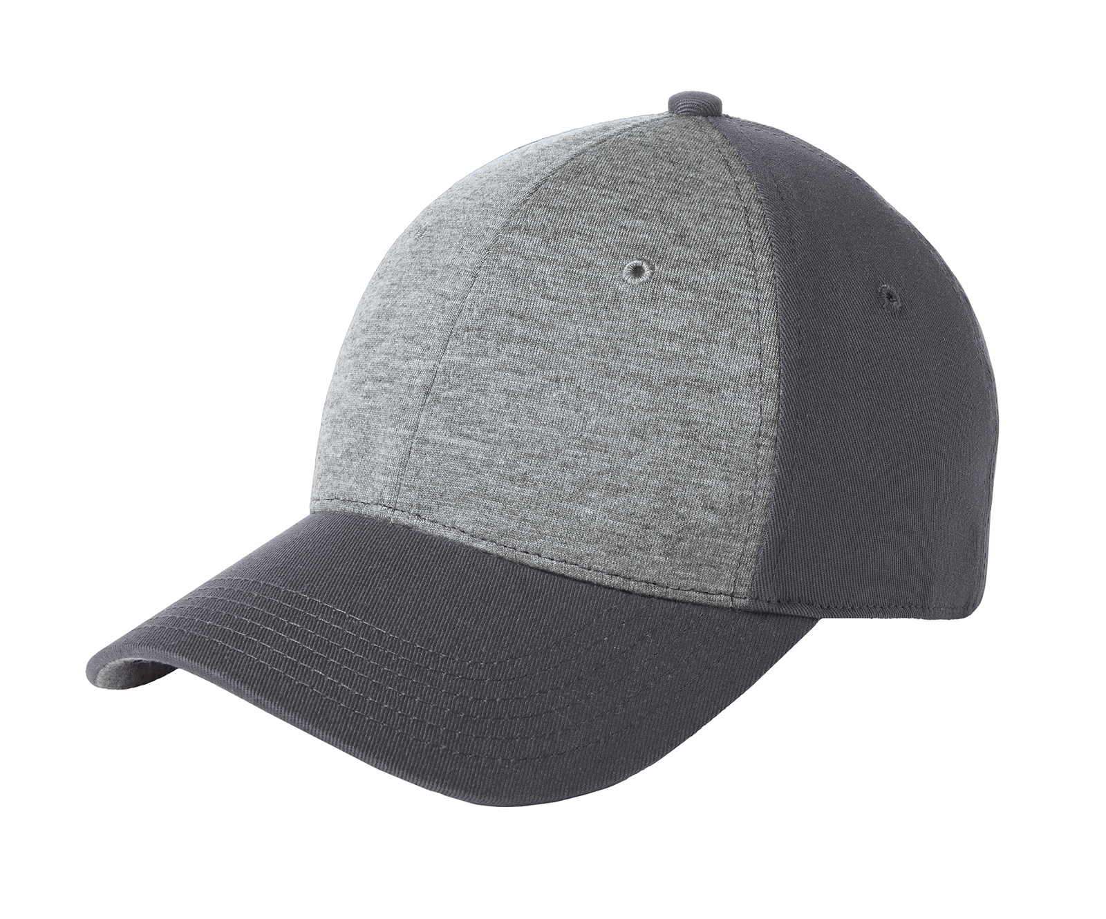 Sport-Tek Embroidered Jersey Front Hat