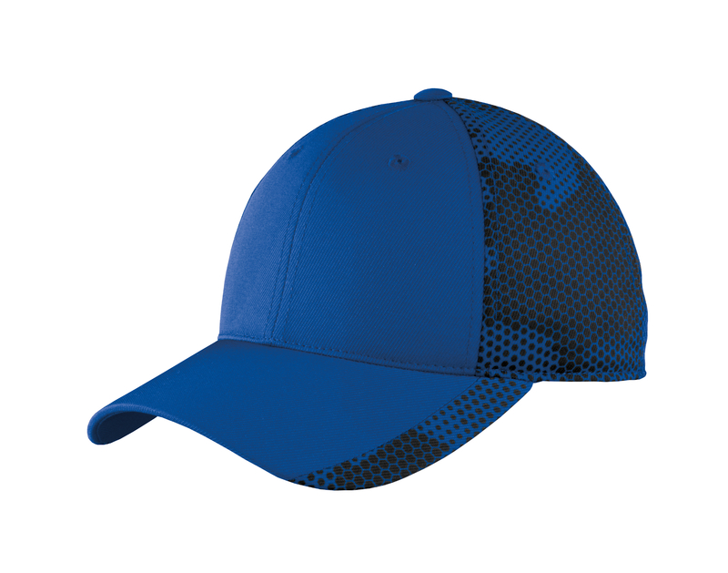 Sport-Tek Embroidered CamoHex Hat