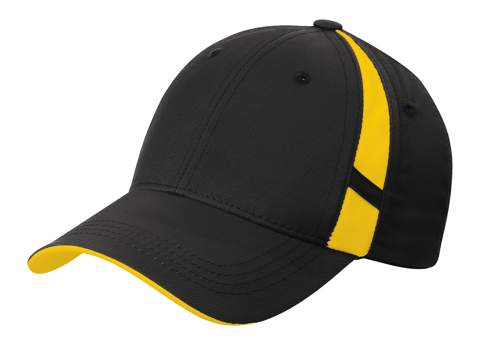 Sport-Tek Embroidered Dry Zone Mesh Inset Hat