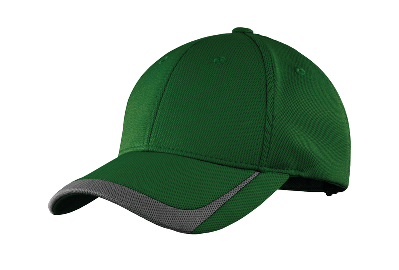 Sport-Tek Embroidered Pique Colorblock Hat