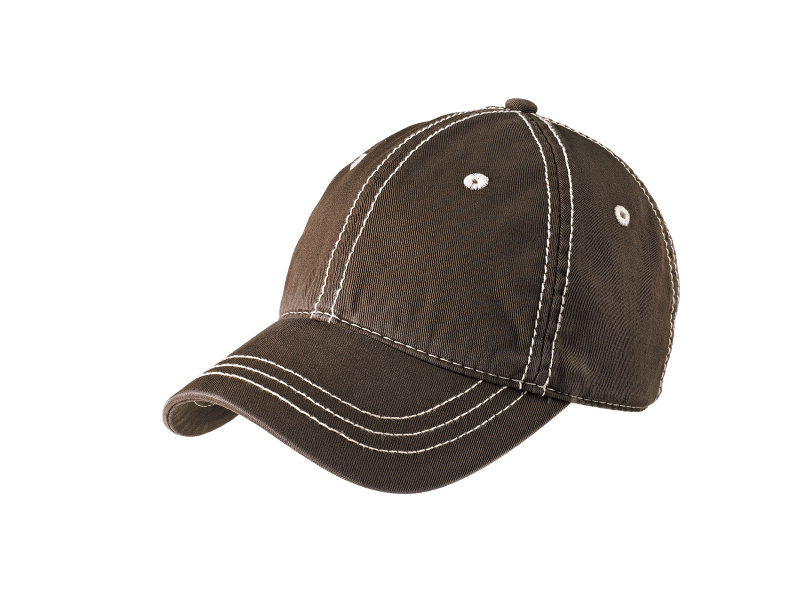 District  Embroidered Thick Stitch Hat