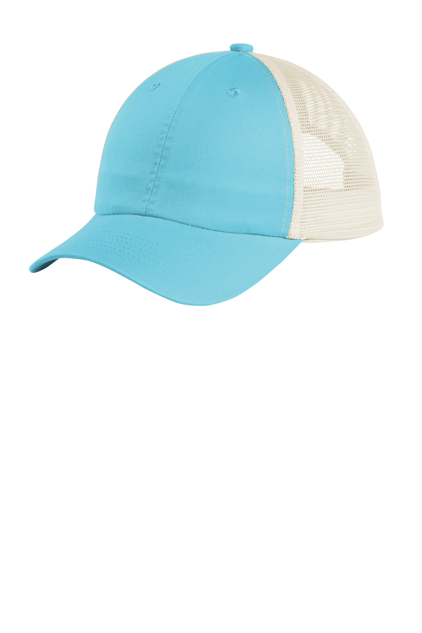 Port Authority Embroidered Beach Wash Mesh Back Cap