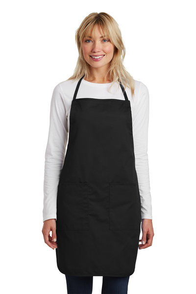 Port Authority Embroidered Full-Length Apron