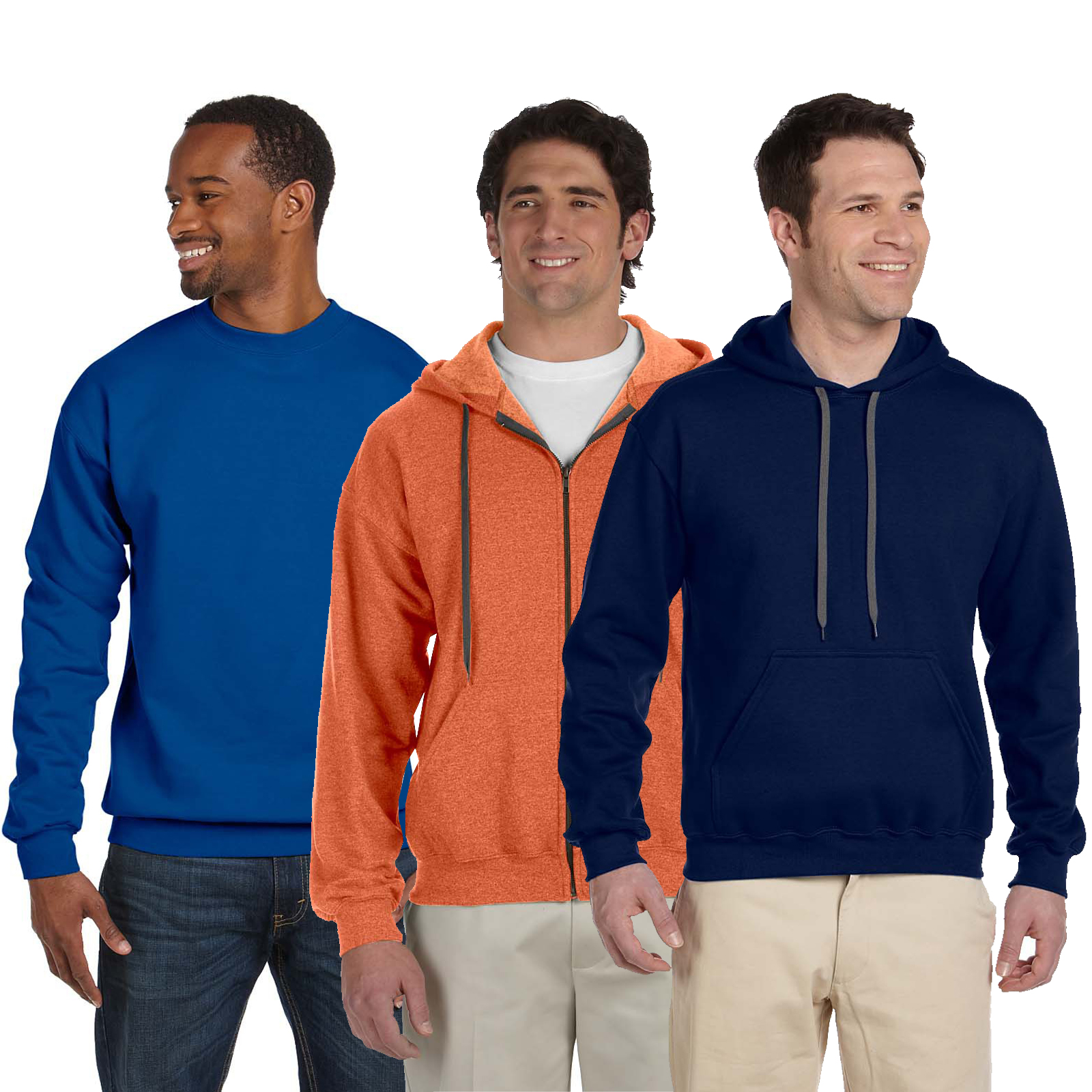 Embroidered Men's Sweatshirt Grab Bag